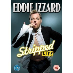 Eddie Izzard Live - Stripped [PAL Format, REGION 2, IMPORT]