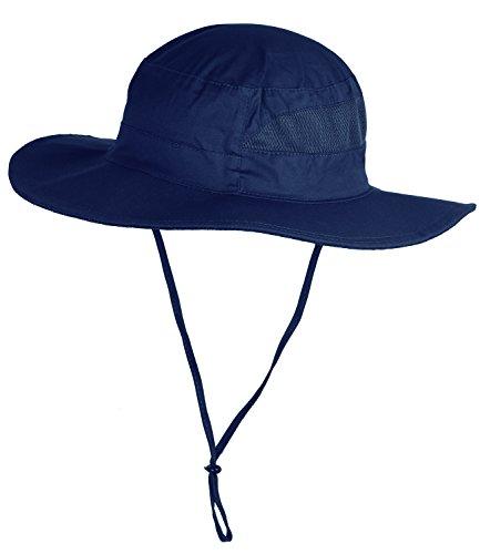 (Mazo Camping Hat Outdoor Quick-dry Hat Sun Hat Fishing Cap(DarkBlue2) )