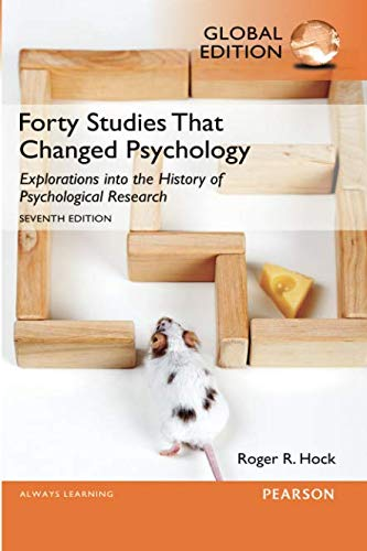 Forty Studies that Changed Psychology, Global Edition ebook