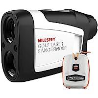 MiLESEEY Golf Range Finder met Helling Aan/Uit, 660 Yards Afstandsmeter met Vlag-Lock en Vibratie, Juridisch voor…