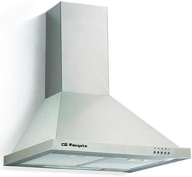 Orbegozo DS 48190 A IN-Campana decorativa, 190 W, 3 velocidades, 40, Acero inoxidable: Amazon.es: Grandes electrodomésticos