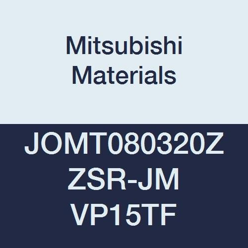 Coated Grade MP7140 0.091 Corner Radius 0.187 Thick Class M Case of 10 Round Honing Mitsubishi JDMT120423ZDER-JL MP7140 Carbide Milling Insert 0.472 Inscribed Circle