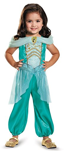 Child Jasmine Princess Costume (Jasmine Toddler Classic Costume, Medium)