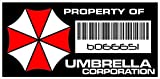 Asset Tag - Property of Umbrella Corporation