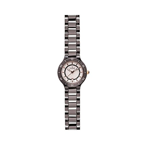 Charmex San Remo 6316 35mm Ceramic Case Black Ceramic Synthetic Sapphire Women's Watch