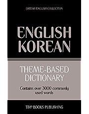 Theme-based dictionary British English-Korean - 3000 words