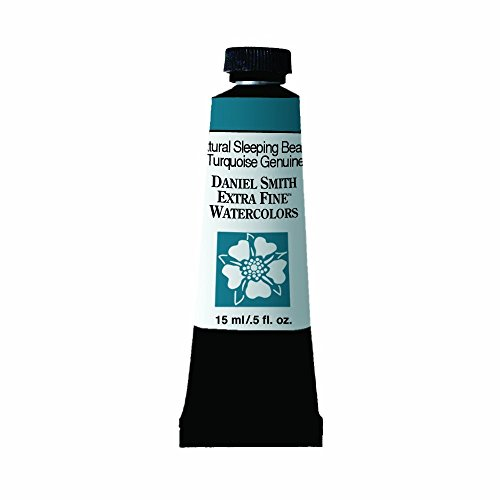 Daniel Smith Extra Fine Watercolor 15ml Paint Tube, Sleeping Beauty Turquoise - Plaza Southwest