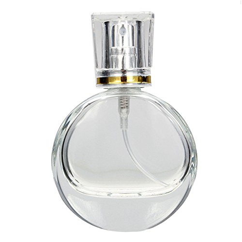 Neolifu (Ship from US) 20ml 1pc Empty Refillable Perfume Spray Bottle Glass Fragrance Aroma Atomizer Container Travel