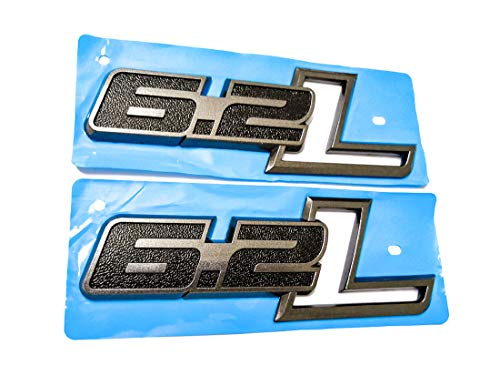 2pcs F-150 Lariat 5.4 Triton Fender Emblems Badges PAIR NEW 3D Decal logo Replacement for 2004-2008 F150 Black//Red