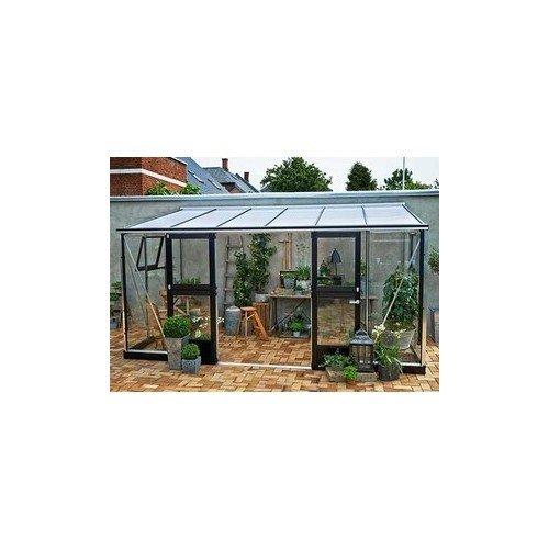 Invernadero de cristal templado Veranda 9, 8 m²: Amazon.es: Jardín