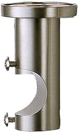 supporto cilindrico da soffitto Barras de cortina per palo delle tende in acciaio inox Diametro 20 mm acciaio INOX