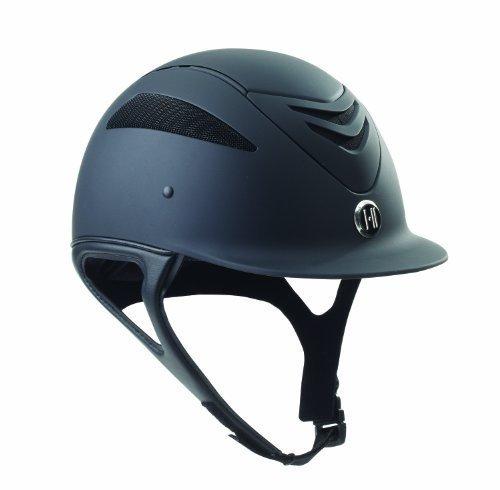 One-K Defender Helmet Long Oval Small Black Matte