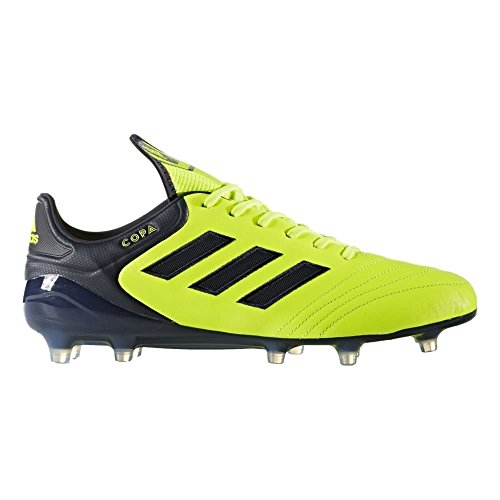 (adidas Copa 17.1 FG Cleat - Men's Soccer 8.5 Solar Yellow/Legend Ink)