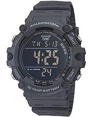 Casio Men's Quartz Resin Strap, Blue, 27.63 Casual Watch (Model: AE-1500WH-8BVCF)