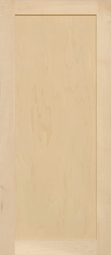 Unfinished Maple Shaker Cabinet Door By Kendor 39h X 17w Amazon
