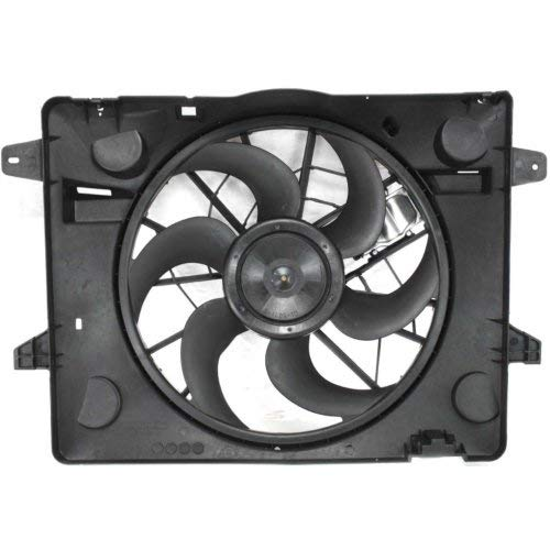Marquis Fan Assembly - Garage-Pro Cooling Fan Assembly for FORD CROWN VICTORIA/GRAND MARQUIS/TOWN CAR 2003-2005 with Controller