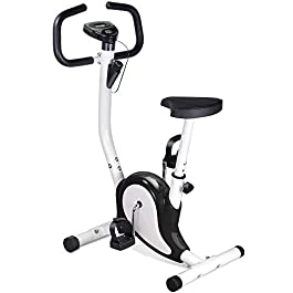 OUTAD Training Exercise Bike LCD Display Comfortable Sponge ...