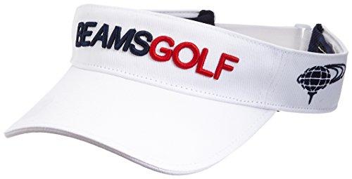 アルミニウム境界協定(ビームスゴルフ) BEAMS GOLF BEAMS GOLF/スタンダード サンバイザー