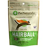 PET NATURAL #39;S OF VERMONT HAIRBALL SOFTCHEW 45 CT 1-EA, My Pet Supplies