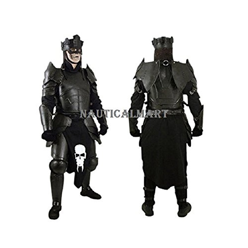 NAUTICALMART Armor Conquest Undead Armour Set Complete Package Black]()