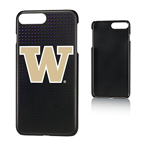 (Keyscaper KSLM7X-0WAS-DOTS01 Washington Huskies iPhone 8 Plus / 7 Plus / 6 Plus Slim Case with UW Dots Design)