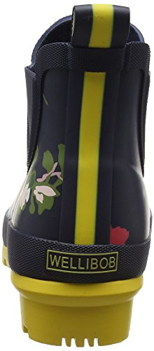 Joules Donna Wellibob Rain Boot Francese Blu Posy