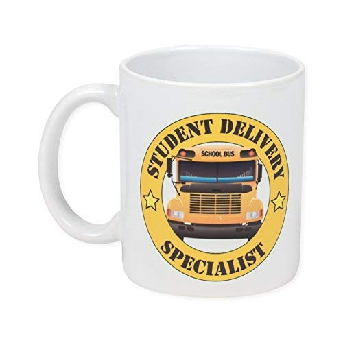 Student Delivery Specialist Number One Bus Driver 11 Ounce Ceramic Coffee Mug