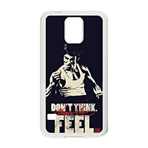 ANCASE Custom Color Printing Bruce Lee Phone Case For Samsung Galaxy S5 i9600 [Pattern-2]
