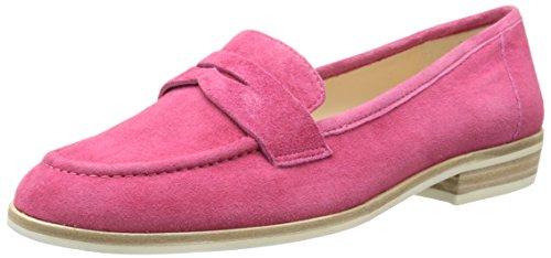 Suede Dark Slip West Antonecia Pink Loafer Women's on Suede Nine fFRqtwF