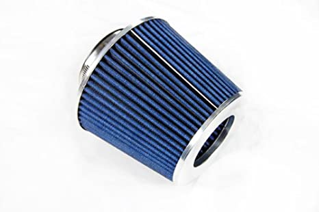 """3 Inches 3/"""" 76 mm Cold Air Intake Cone Filter Quality RED Mitsubishi"""