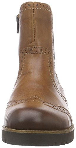 Remonte Ladies Warm Lined Ankle Boot D0174= Brown (Muskat/Muskat)