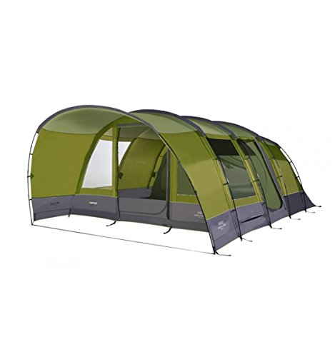 Vango Avington 600XL 6 Man Family Tent - Herbal