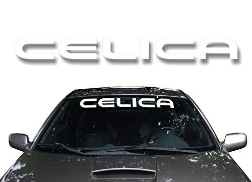 32″ Toyota CELICA Windshield Window Banner Vinyl Decal Sunshade JDM Graphic Sticker