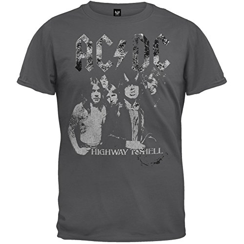 AC/DC - Highway To Hell Group Soft - Highway Shirt Hell T To