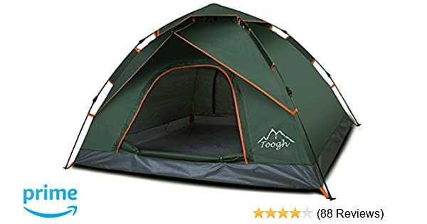 Amazon.com   Toogh 3 Person Camping Tent 4 Season Backpacking Tent  Automatic Instant Pop Up Tent for Outdoor Sports   Sports   Outdoors fa64a48bd
