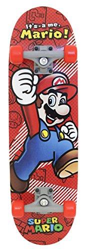 "Price comparison product image Nintendo 28"" Skateboard, Multi"