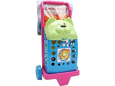 IMITOYS Carrito Compra Gato con Accesorios 50X23CM Vicam Toys 33: Amazon.es: Juguetes y juegos