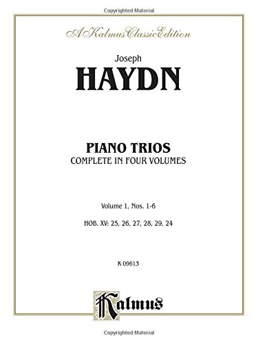 Trios for Violin, Cello and Piano, Vol 1: Nos. 1-6 (Kalmus Edition)