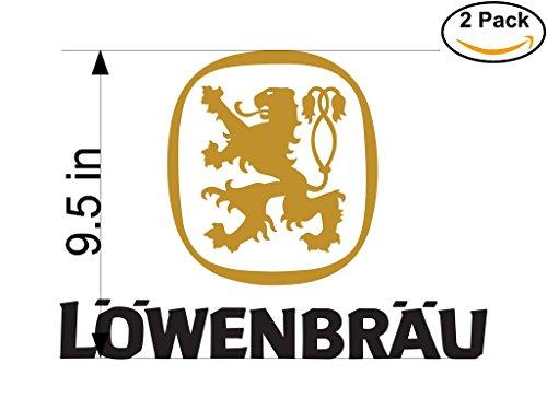 lowenbrau-2-beer-logo-alcohol-4-vinyl-stickers-decal-bumper-window-bar-wall-95-inches