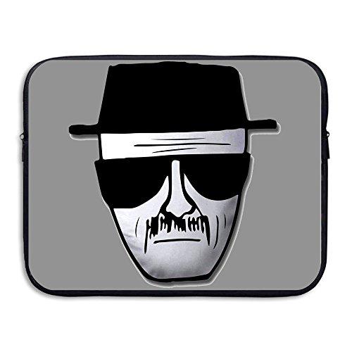 [Custom Geek Breaking Bad Heisenberg Logo Shock-Resistant Laptop Zipper Cover Bag 15 Inch] (Bad Habit Costumes)