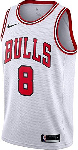 Chicago Bulls #8 Zach LaVine ALL STAR Swingman Jersey