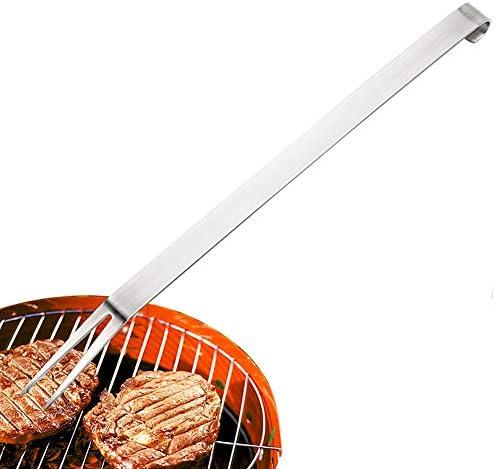 KunLS Pic a Brochette Brochettes Barbecue INOX en Plein air Barbecue Grillage Fourchette Alimentaire Brochettes Brochettes pour Brochettes De Fruits