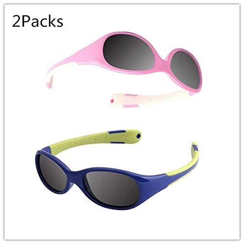 Jiaxingo Gafas de Sol polarizadas Kids Sports Style para ...