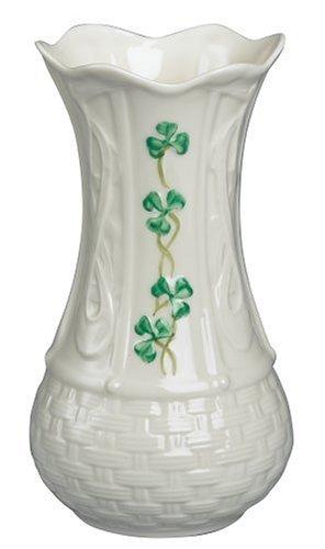Amazon Belleek Kells 7 Inch Vase Home Kitchen