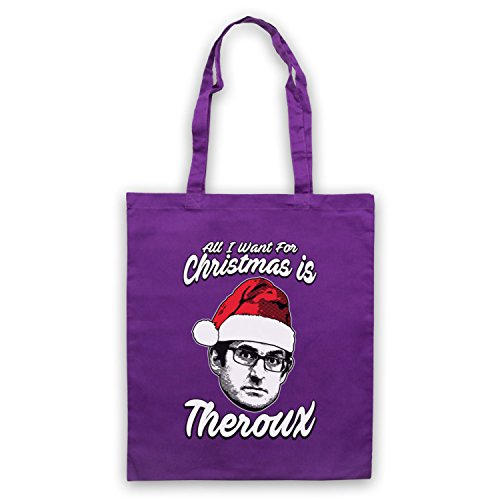 Louis Theroux All I Want For Christmas Is Theroux Bolso Morado