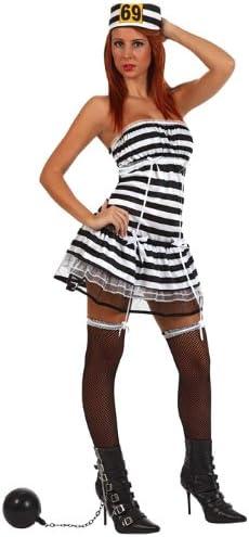 Atosa-10430 Disfraz Presa, color negro, XS-S (10430): Amazon.es ...