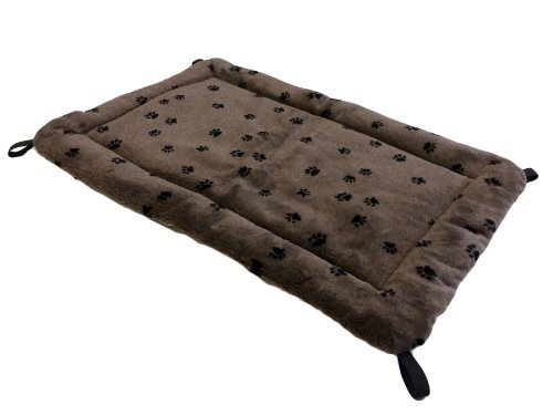 Kuranda Reversible Fleece Pad - 40x25 - Chocolate/Cream Pad Chocolate