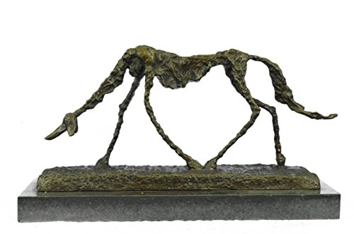 Handmade European Bronze Sculpture Alberto Giacometti - Dog (1951) - Signed - Animal Bronze Sculpture Statue FigureYDW-239-Decor Collectible Statues Gift