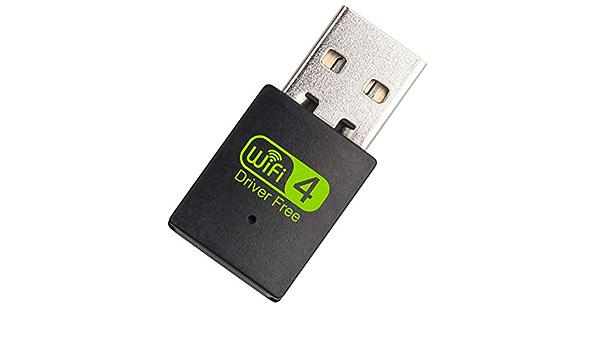 Doggo Adaptador USB WiFi Bluetooth Dual Band inalámbrico ...