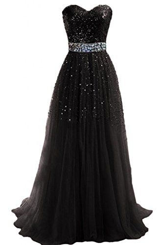 Hi Girls Exquisite Sweetheart Tulle Long Prom Dresses 2014 Party Gowns (US18,...